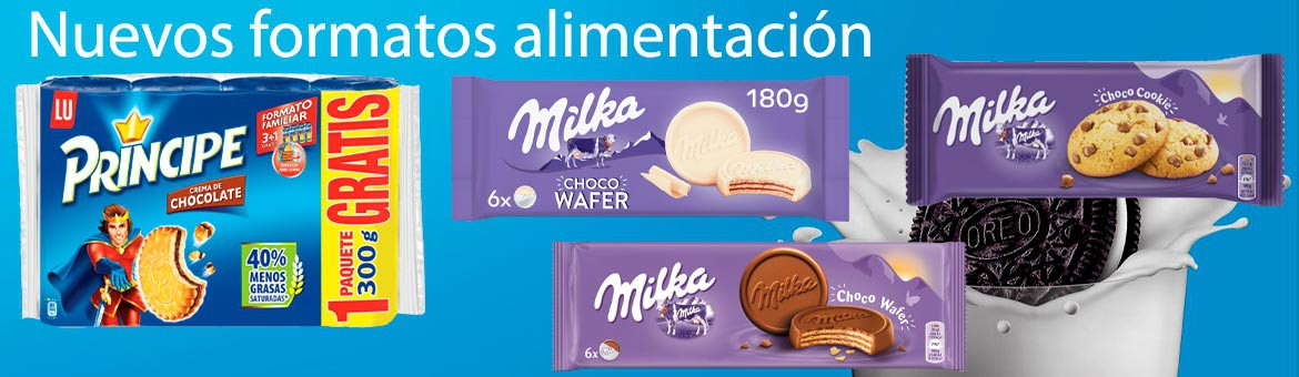 New products Milka food format