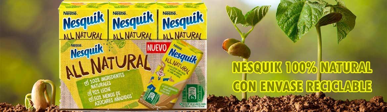 Nesquik All Natural. 100% natural