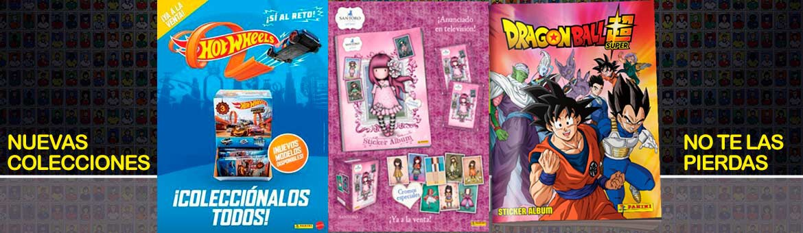 New Panini collections