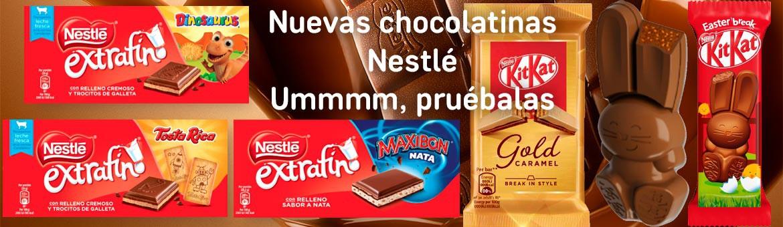 新巧克力。 嗯,试试看