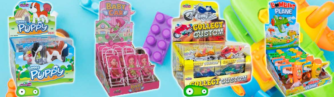 New assortment of toys