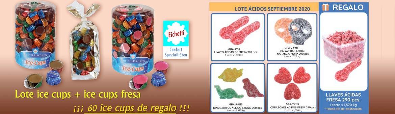 New batch Eichetti Choco strawberry and acid keys